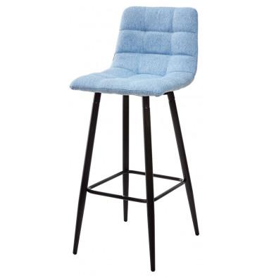 Барный стул SPICE TRF-10 небесно-голубой, ткань
