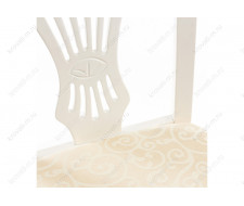 Стул деревянный Arfa butter white