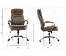 Компьютерное кресло Tomar серое