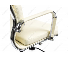 Компьютерный стул Samora кремовое