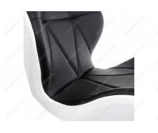 Стул деревянный PC-027 черный / белый