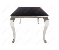 Стол стеклянный Sondal 160 черный