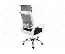 Компьютерное кресло Lion черно-белое
