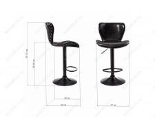 Барный стул Over черный