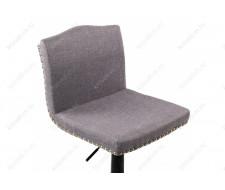 Барный стул Crown grey fabric
