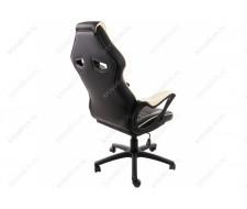 Компьютерное кресло Monza черное / бежевое