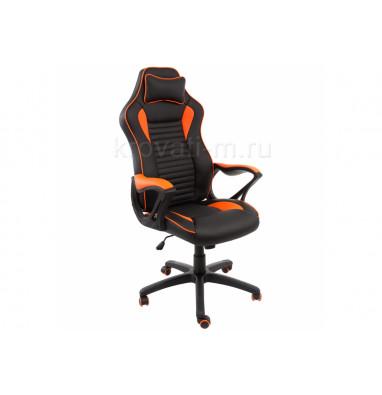 Компьютерное кресло Leon черное / оранжевое