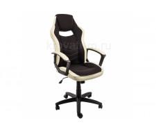 Компьютерное кресло Gamer черное / бежевое