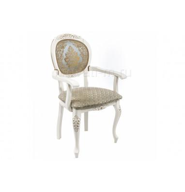 Кресло Adriano 2 молочный