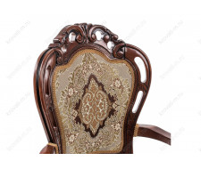 Кресло Bronte вишня патина