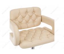Барный стул Shiny бежевый