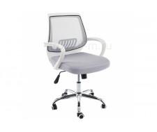 Компьютерное кресло Ergoplus белое / серое