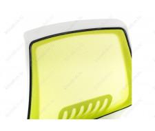 Компьютерное кресло Ergoplus белое / зеленое