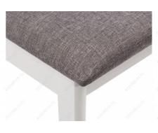 Стул деревянный Aron Soft white / light grey