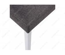Стул деревянный Стул Gross white / dark grey