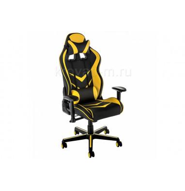 Компьютерное кресло Racer черное / желтое