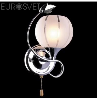Настенные светильники Бра 3457/1 хром/белый