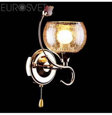 Настенные светильники Бра 3457/1H золото/коричневый