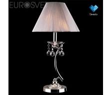 Настенные светильники Настольная лампа с хрусталем 1087/1 хром/серебристый Strotskis  настольная лампа