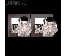 Настенные светильники Спот 20140/2 хром/венге