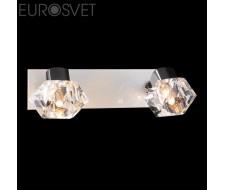 Настенные светильники Спот 25332/2 хром/белый