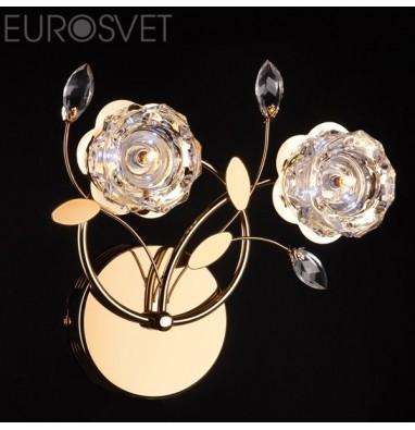 Настенные светильники Бра 4826/2 золото/белый