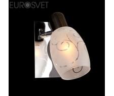 Настенные светильники Спот 60301/1 хром/венге