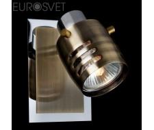 Настенные светильники Спот 23463/1 хром/античная бронза