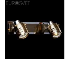Настенные светильники Спот 23463/2 хром/античная бронза