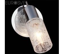 Настенные светильники Настенный светильник 20101/1 хром/белый