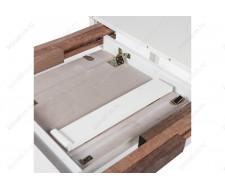 Стол деревянный Alicante молочный