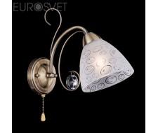 Настенные светильники Бра 60011/1 античная бронза