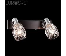 Настенные светильники Спот 20028/2 хром/венге