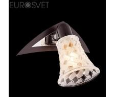 Настенные светильники Спот 20032/1 хром/венге