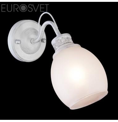 Настенные светильники Бра 70029/1 белый с серебром