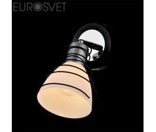 Настенные светильники Спот 20038/1 хром/венге