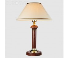 Настольные лампы Настольная лампа 60019/1 темное дерево