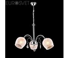 Потолочные и подвесные светильники Люстра 30098/3 хром