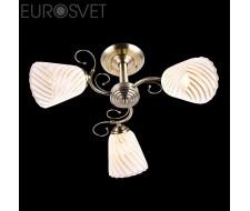 Потолочные и подвесные светильники Люстра 30099/3 античная бронза