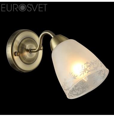 Настенные светильники  30080/1 античная бронза