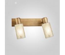 Настенные светильники Спот 20047/2 патинированная бронза