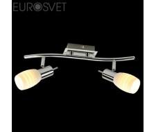 Настенные светильники Спот 20046/2 хром/белый