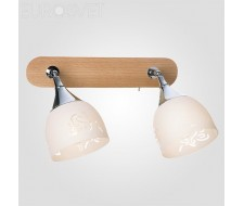Настенные светильники Спот 20051/2 светлое дерево