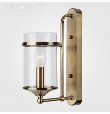Настенные светильники Бра 60040/1 античная бронза