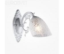 Настенные светильники Бра 70039/1 белый с серебром