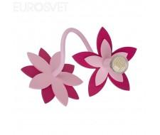 Настенные светильники Настенный светильник 6893 Flowers Pink I