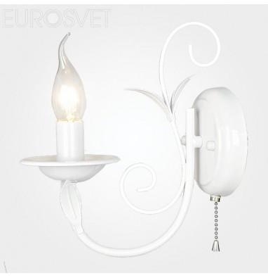 Настенные светильники Бра 60050/1 глянцевый белый