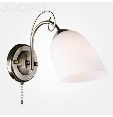 Настенные светильники Бра 30107/1 античная бронза