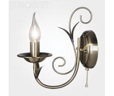Настенные светильники Бра 60050/1 античная бронза
