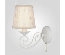 Настенные светильники Бра 60051/1 белый с золотом